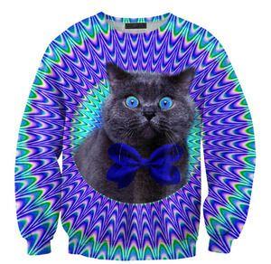 Crazy Cat Sweater by Mr. Gugu & Miss Go