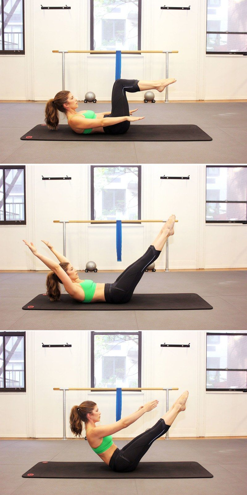 The 10 Best Pilates Moves for Flat Abs #yogaypilates