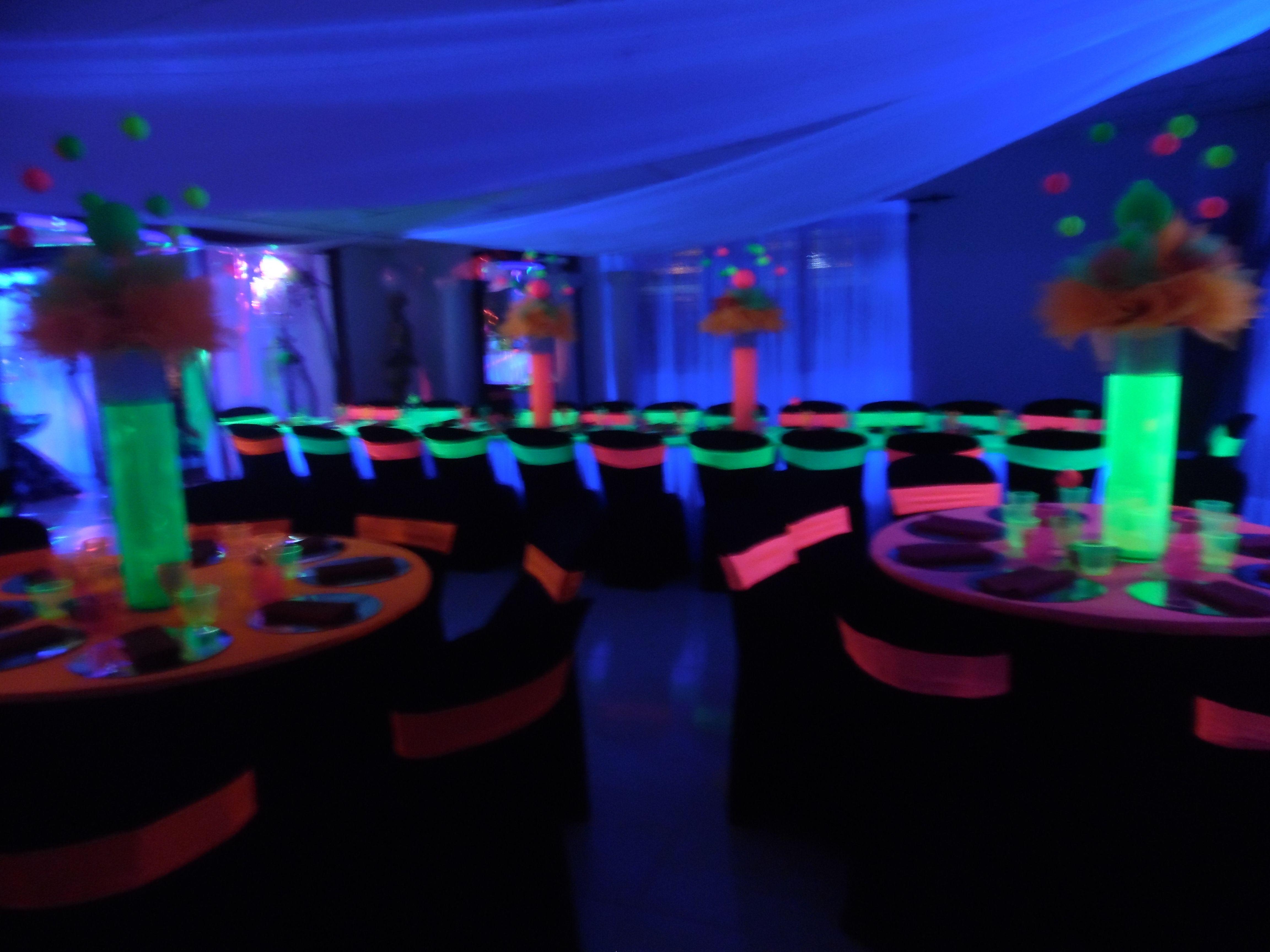 Decoracion neon m sica y disco fiesta ne n decoraci n neon y ne n - Ideas para discotecas ...