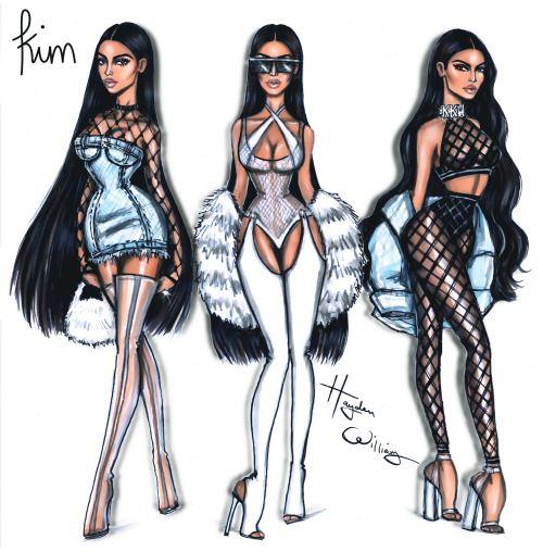 Kim Kardashian West x3 by Hayden Williams