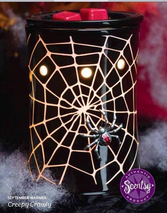 New Spider Web Scentsy Warmer Karens All About The Scents