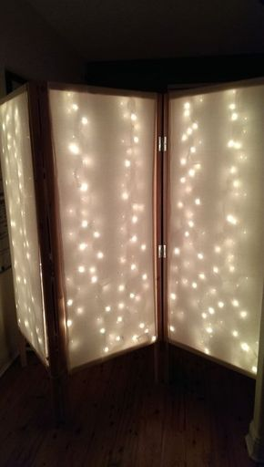 Lighted Room Divider/Privacy Screen images