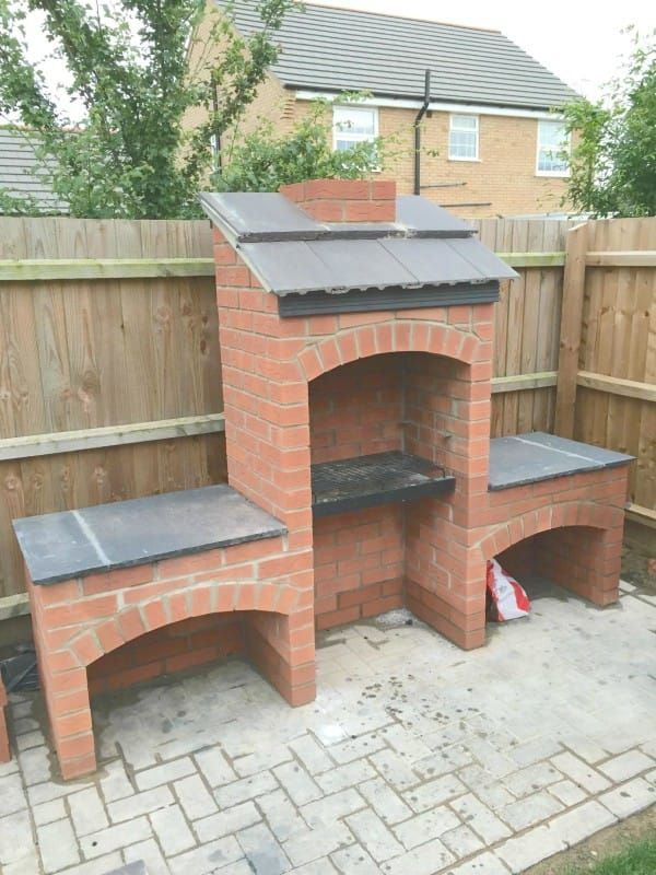 This Stunning Diy Brick Bbq Is The Perfect Addition To Your