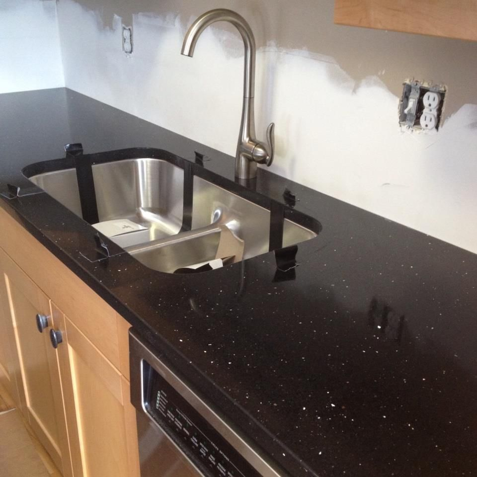 Very Happy With My New Countertop! Silestone Stellar Night
