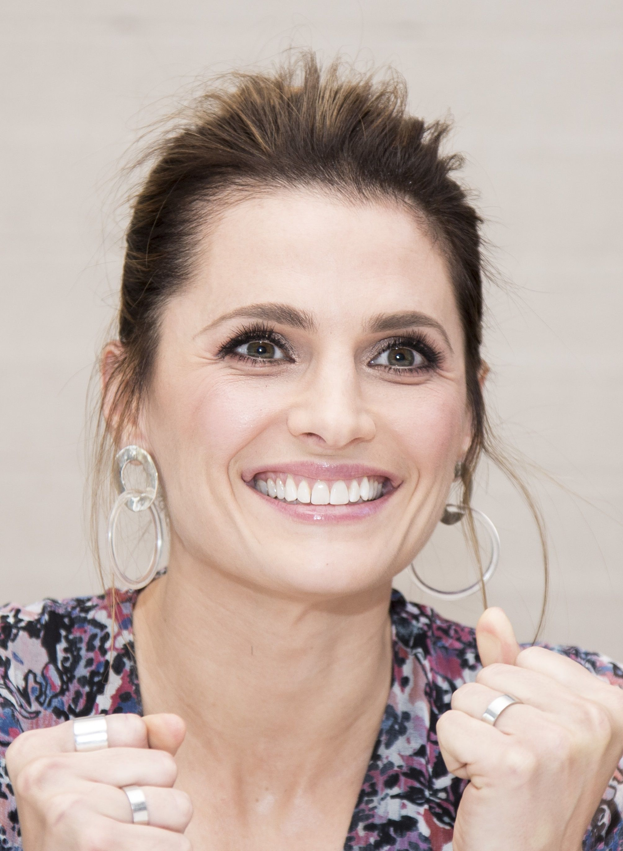 Stana Katic - Promotion for Absentia at Hollywood