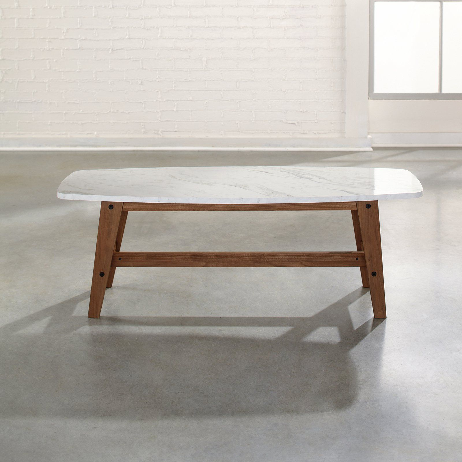 Sauder Soft Modern Coffee Table - Show off your love for retro ...