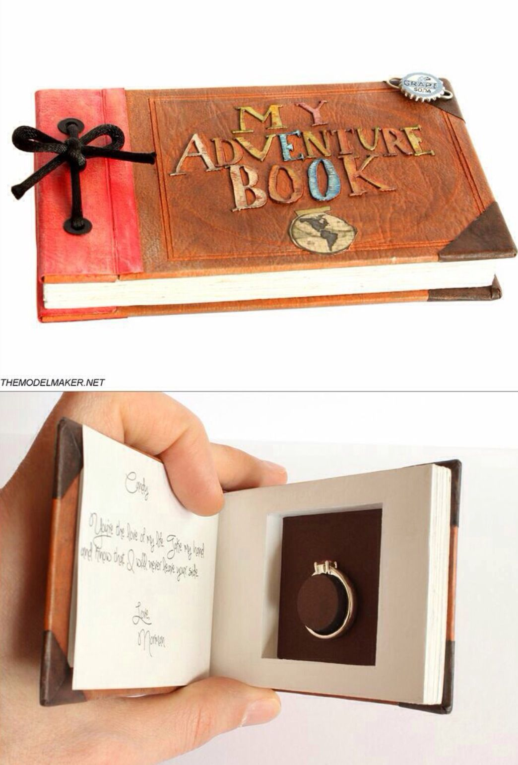 such an adorable idea!! (how to get him to propose how to make