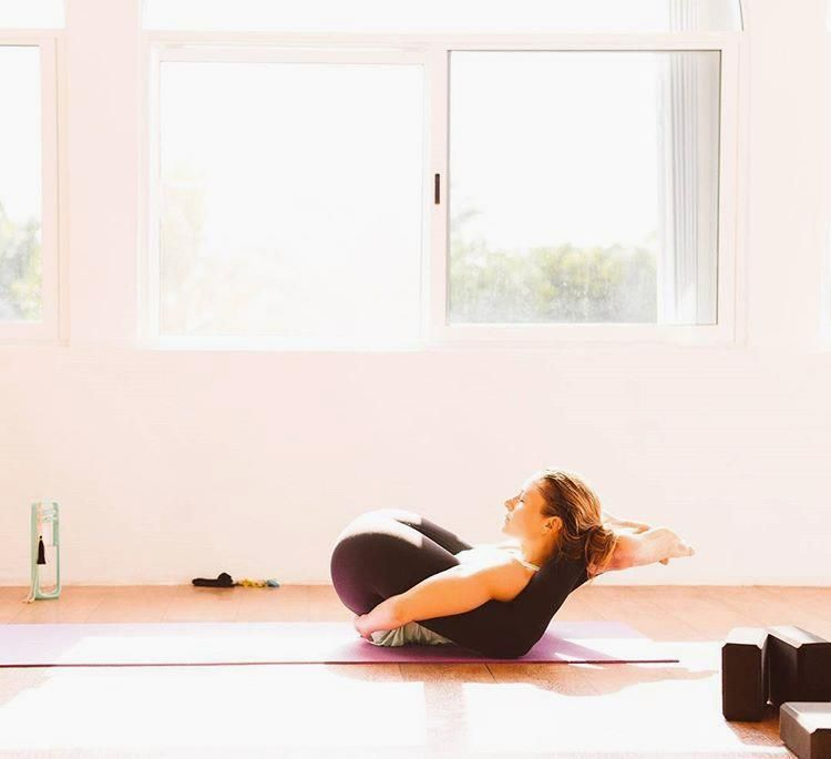 Feet behind your head! | Yoga | Pinterest