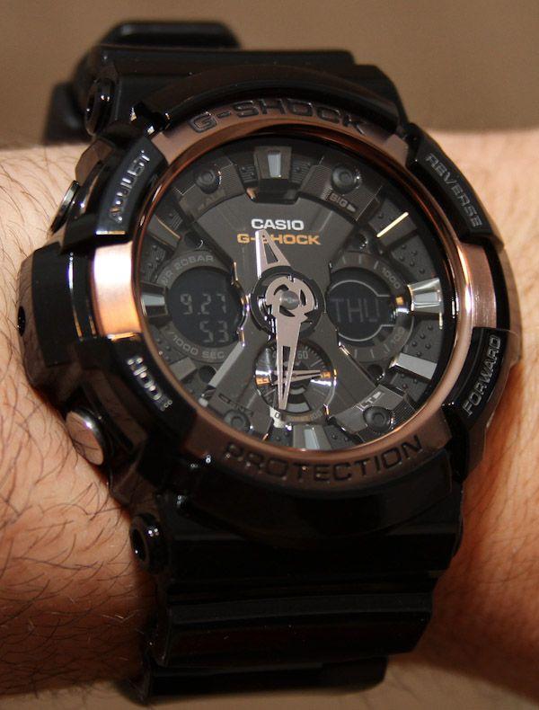 Casio G-Shock GA200RG Watch Review  babbc9a244