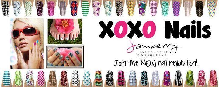 Love beautiful nails? Aubrih.jamberrynails.net
