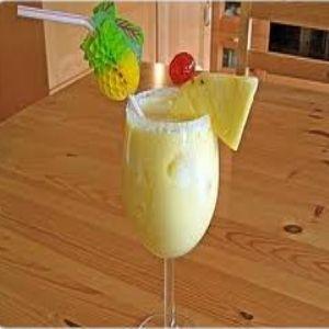 The Traditional Pina Colada Recipe Ice Cubes 2 Parts White Rum