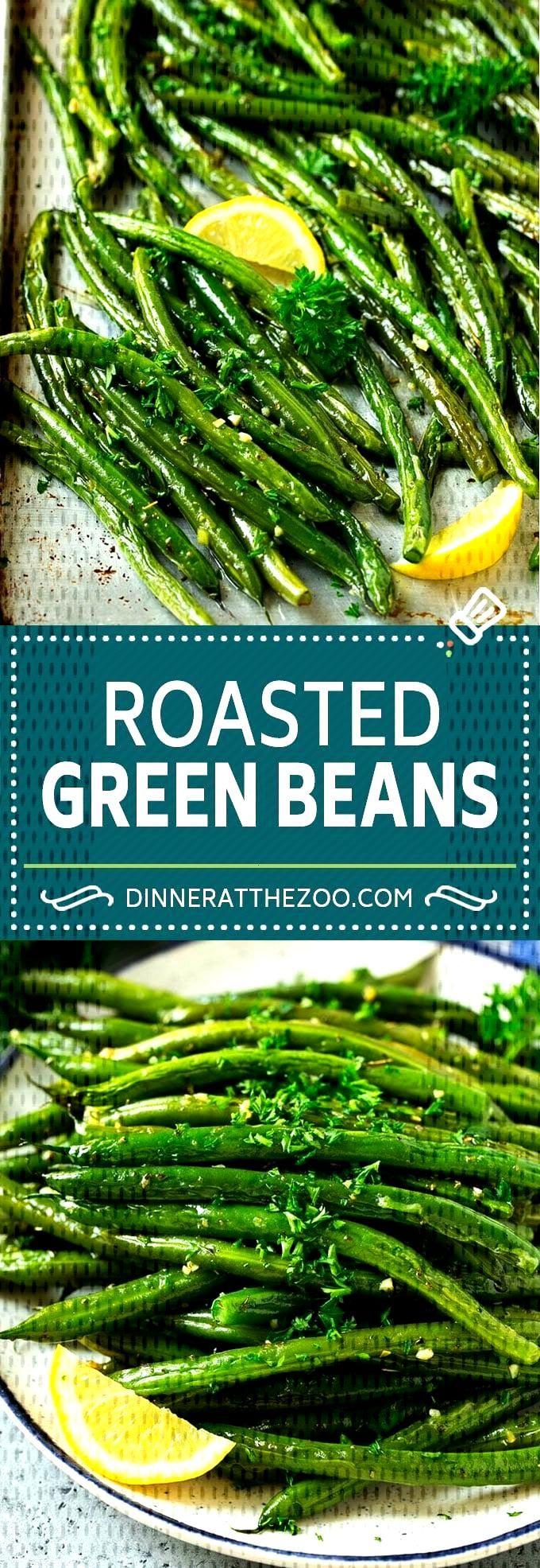 Roasted Green Beans Recipe | Garlic Green Beans | Easy Green Beans