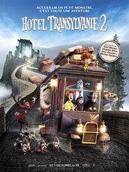 """Hôtel Transylvanie 2 → """"Dracula et ses amis tentent de faire ressortir le monstre dans sa moitié humaine, moitié vampire petit-fils afin de garder Mavis de quitter l'hôtel."""""""