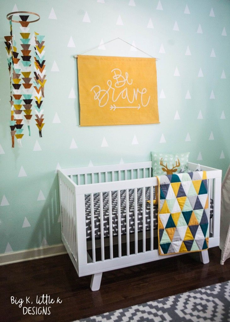 Beautiful Baby Boy Rooms: Rustic Modern Boy Nursery - Big K, Little K Designs