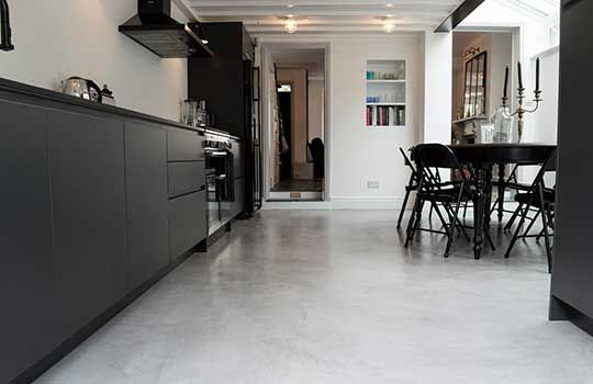 Poured Resin Flooring Polished Concrete Floors Microcrete