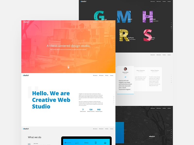 Free Website Landing Page Mockup In Psd Website Landingpage Mockup Psd Website Mockup Web Mockup Website Layout Template