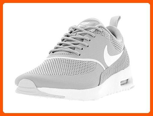 Nike Womens Air Max Thea Running Shoe WhiteWhite 8