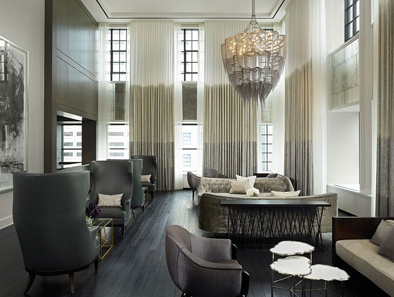 The landmark club chicago gary lee partners hospitality - Commercial interior design chicago ...