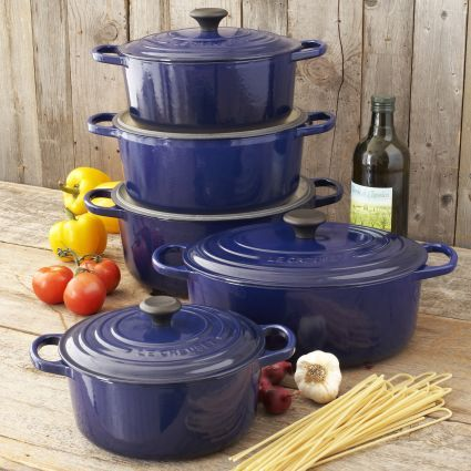 Le Creuset® Signature Indigo Round French Ovens, Available At #surlatable