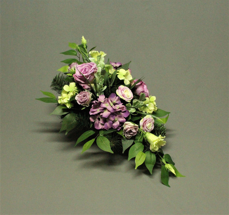 Dekoracja Nagrobna Kwiaty Sztuczne Dekoracja Na Pomnik Etsy Flower Arrangements Funeral Flowers Artificial Flowers