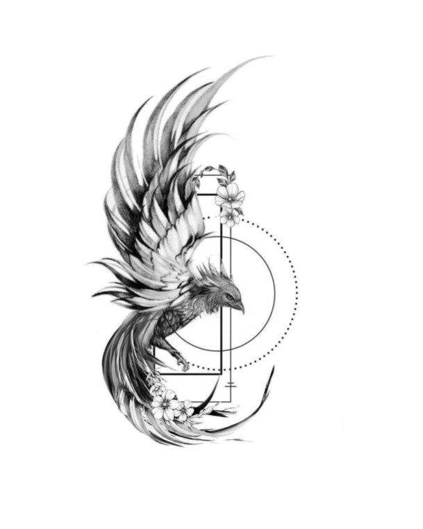 Photo of Skizze Phoenix Tattoos 06