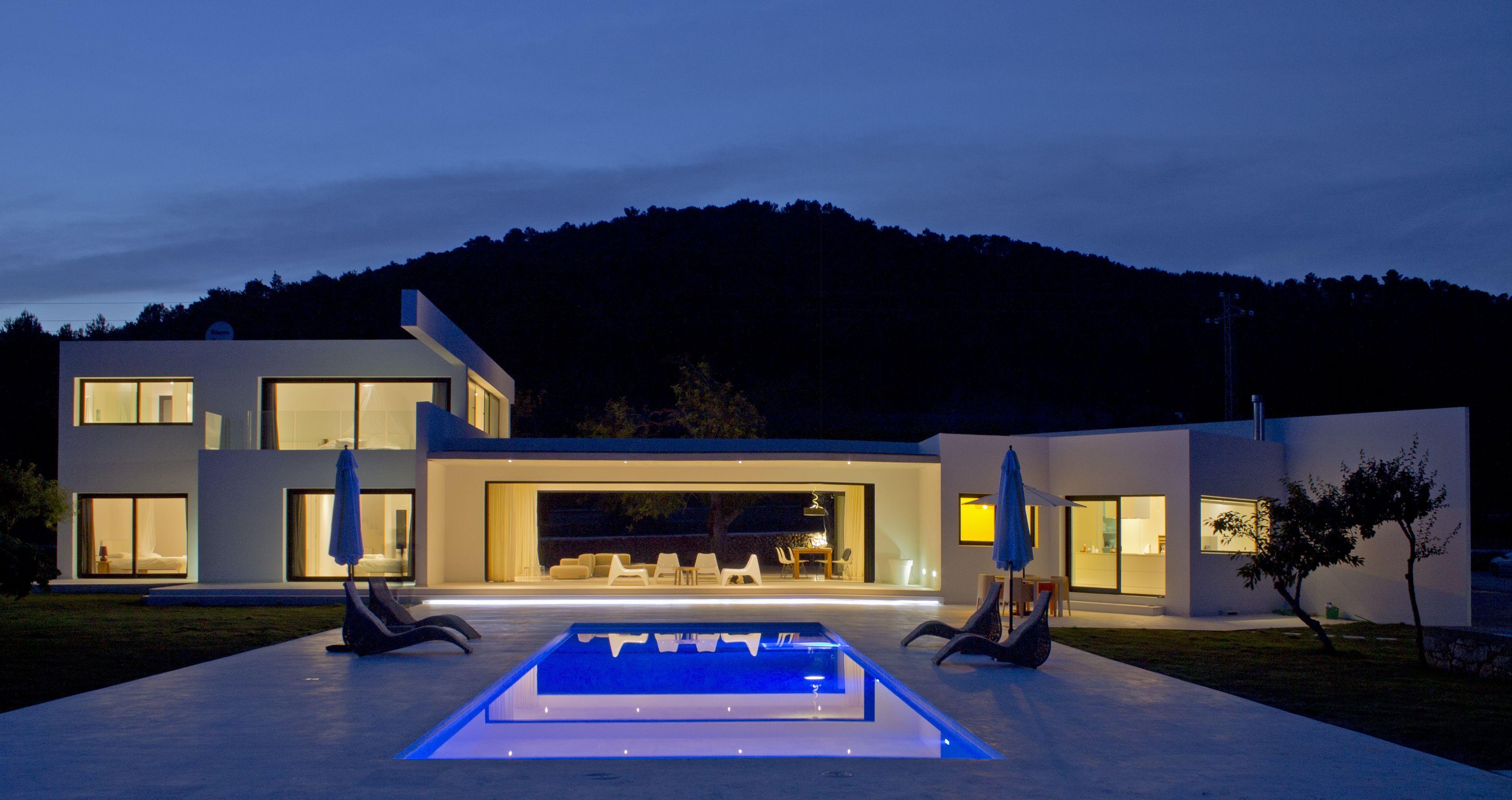Luxury real estate in Eivissa Spain MODERN VILLA IN SANT