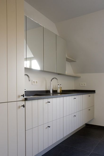 Landelijk badkamermeubel badkamer bathroom pinterest badkamermeubel badkamer en badkamers - Landelijke badkamer meubels ...