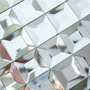 Decoration Tile Alluring Crystal Glass Mosaic Mirror Tile Edging Diamond Background Wall Inspiration