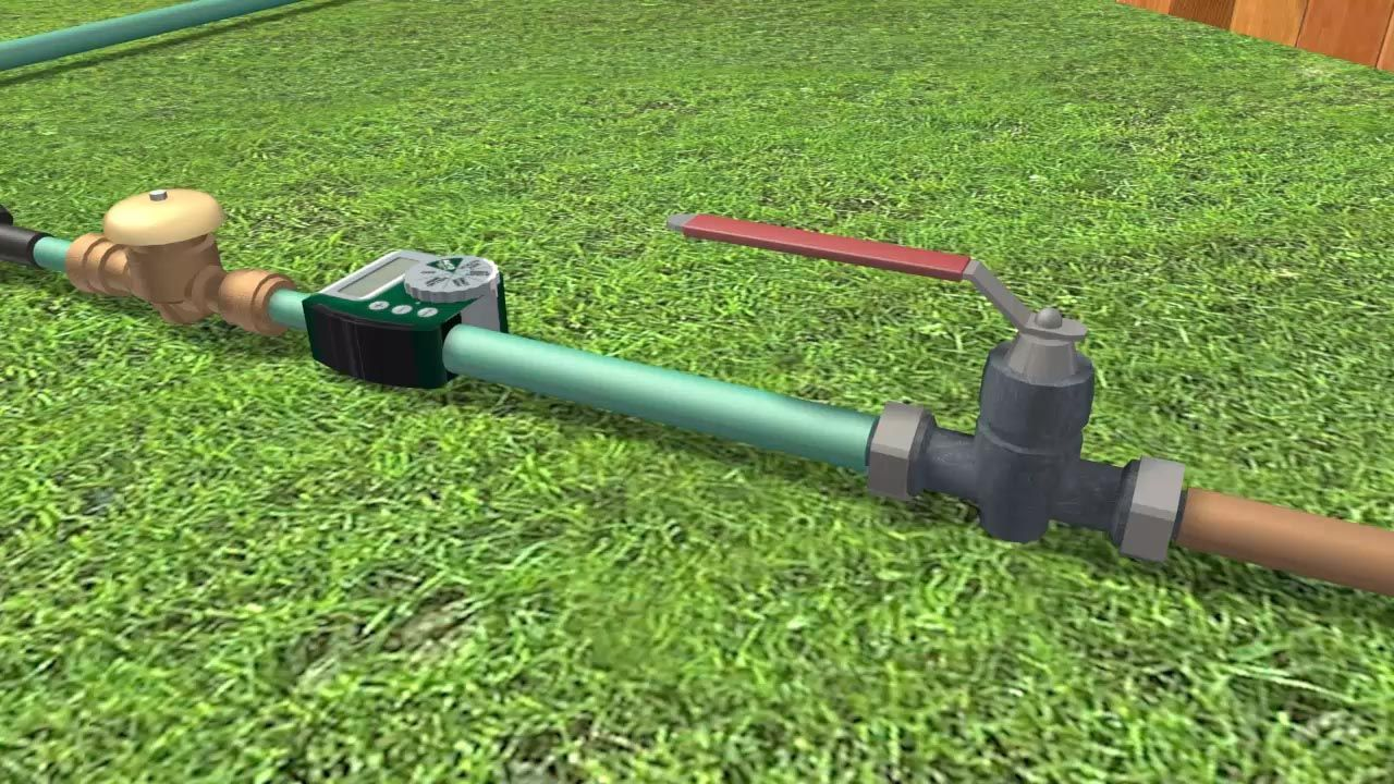 How To Install A Drip Irrigation System Via Wikihow