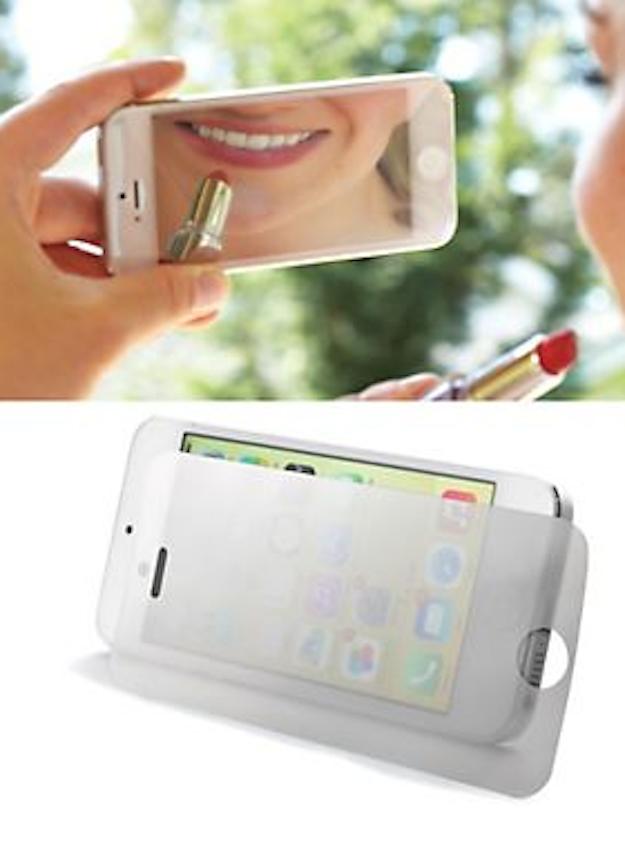A mirrored phone screen protector  | Weird Things | Gadget
