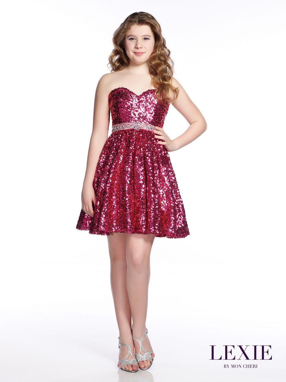 short sequin prom dress for teenager  lexiemon cheri