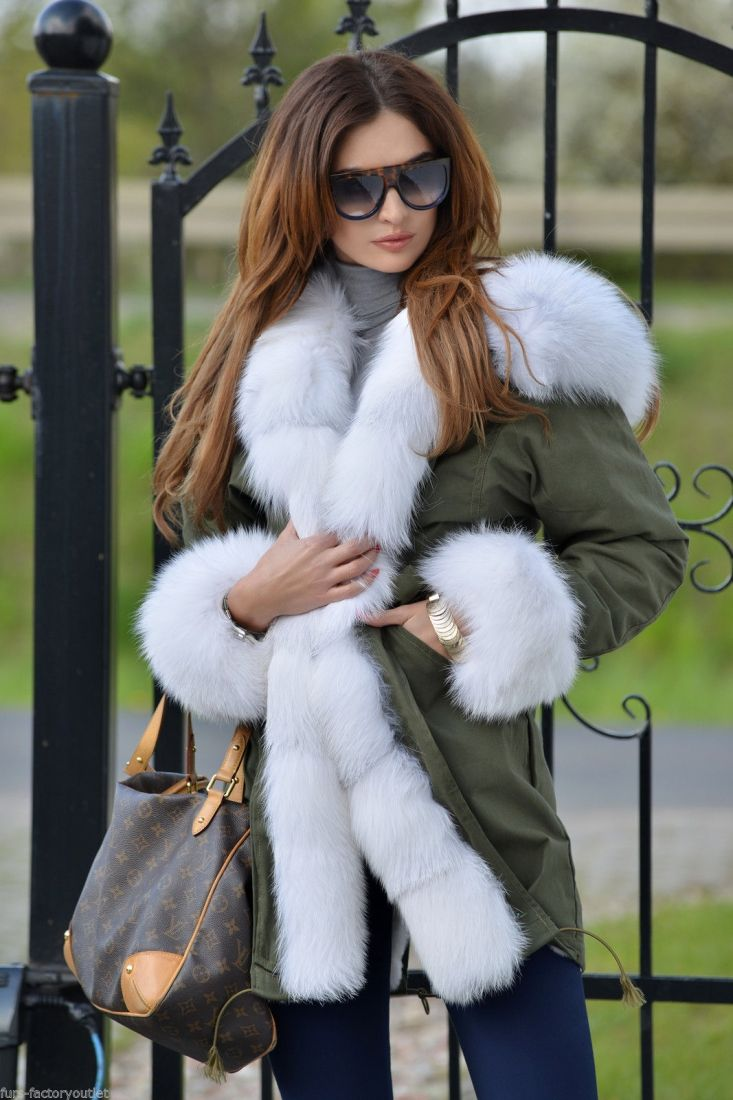 american parka with fur - military parka coat arctic fox fur 2016