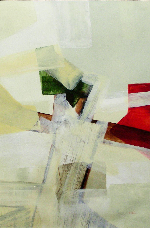 Fiel Patricio, 'Veiled', Acrylics, 27x19 inches