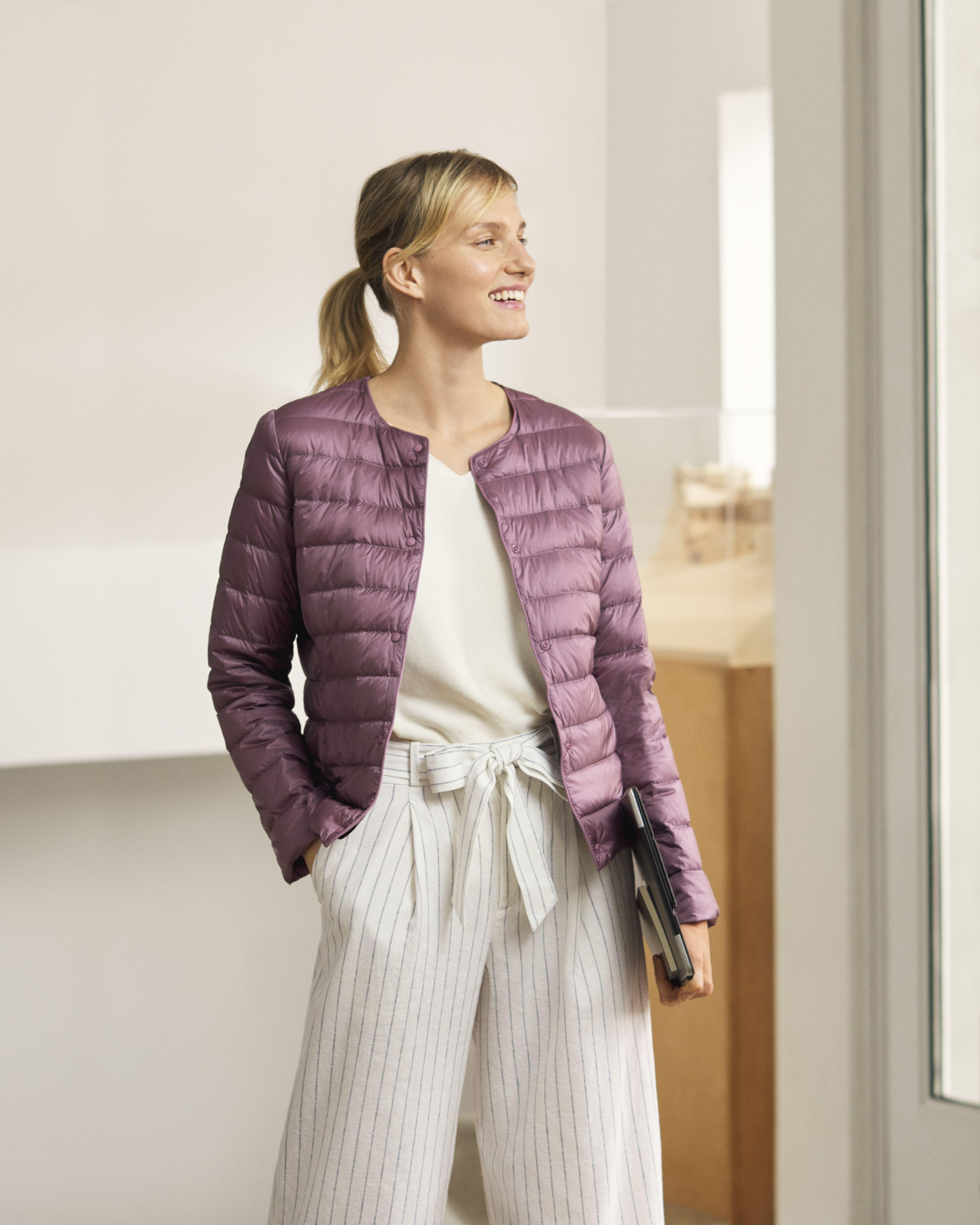 Ultra Light Down Compact Jacket Compact Jacket Sleek Fashion Fashion Week Street Style [ 6144 x 4912 Pixel ]