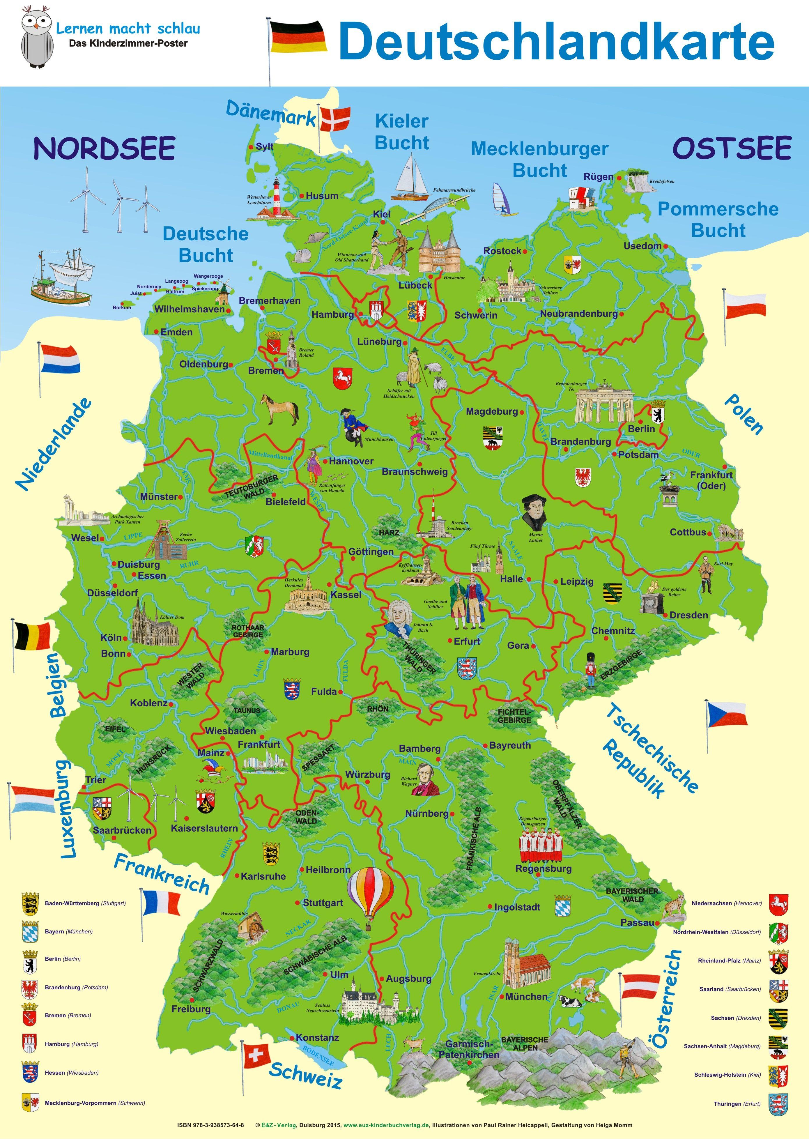 deutschland karte online deutschlandkarte #deutschlandkarte | Deutschlandkarte, Italien