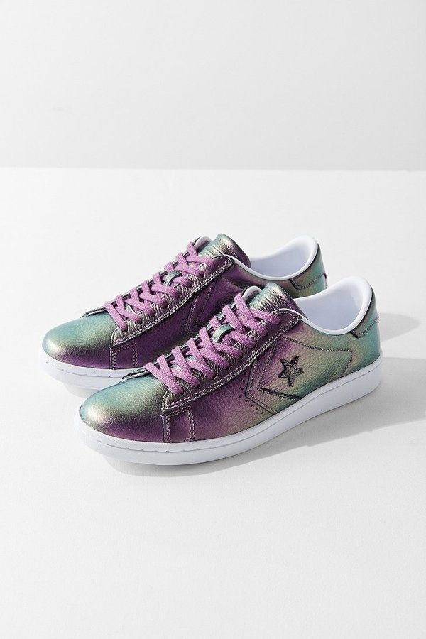 converse pro leather gialle