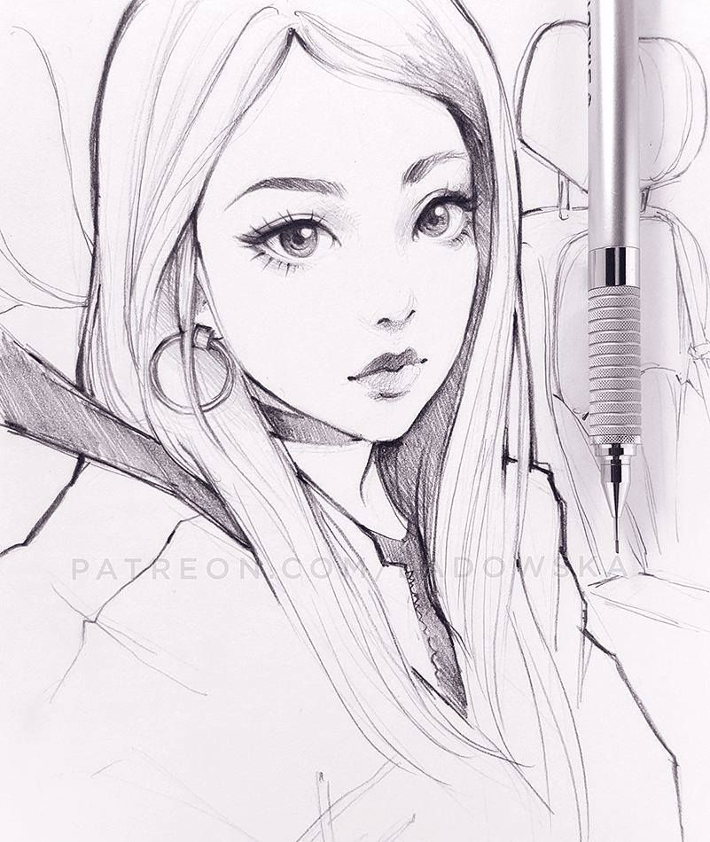 Pencil Drawings Of Anime Characters: Drawings, Art Sketches