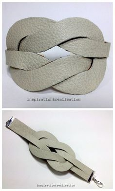 Photo of DIY Easy Hermès Inspired Faux Knot Cuff Tutorial from Inspiration & Realization …