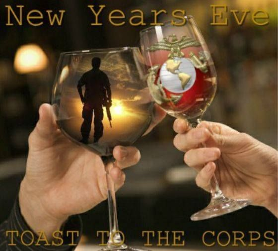A Toast to the Corps!