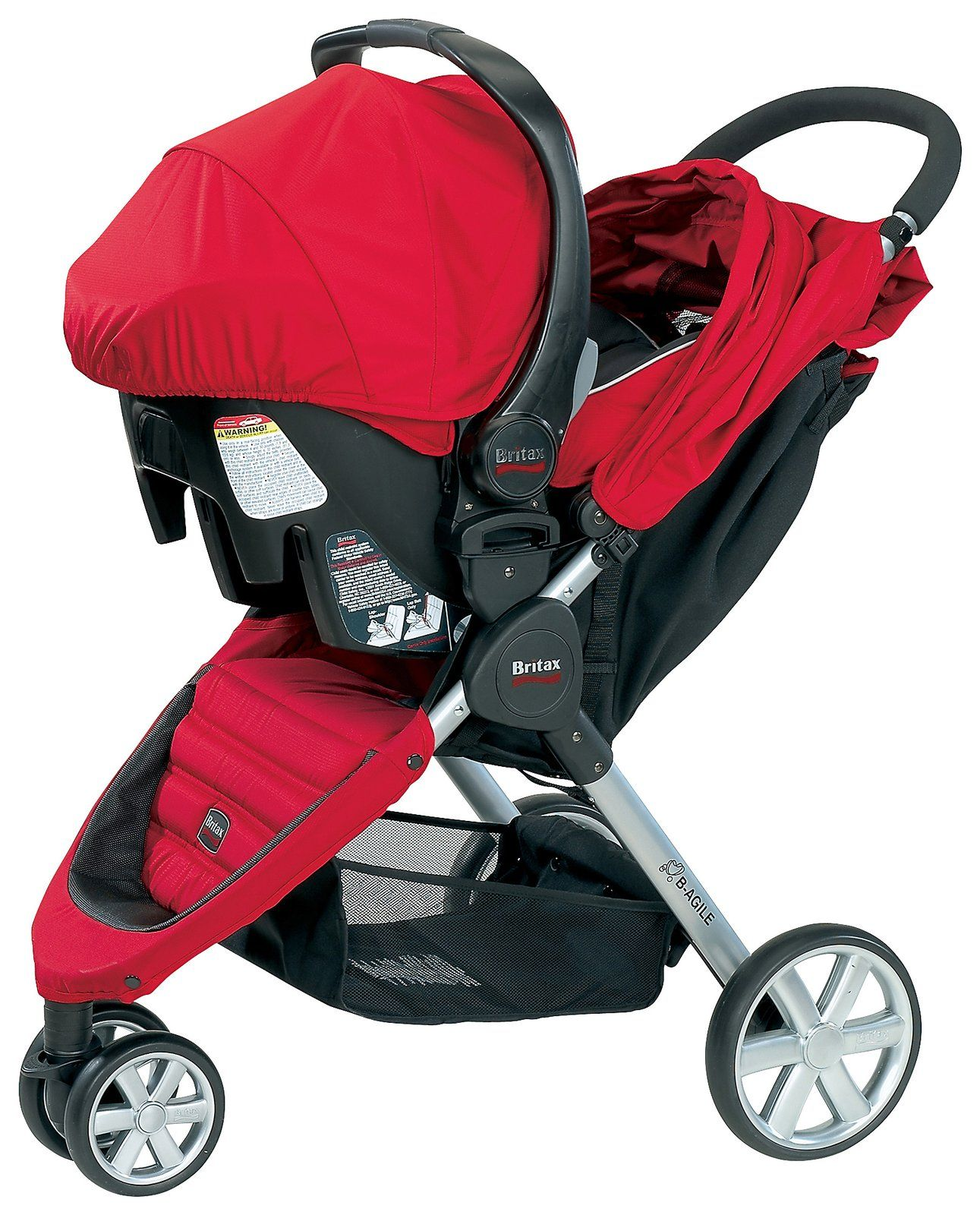 The Britax Bsafe Infant Car Seat Is Travel System