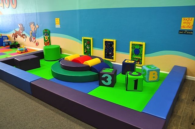 Another indoor play area for young toddlers indoor for Inside play areas
