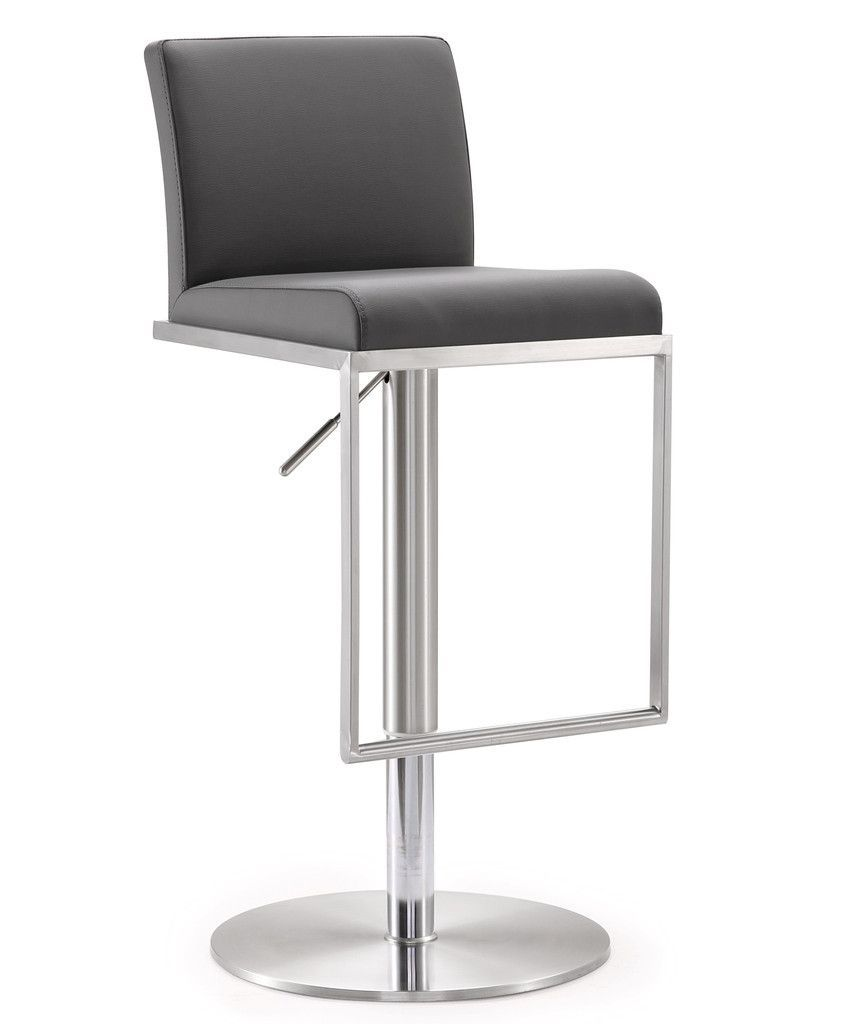 TOV Furniture Amalfi Steel Adjustable Barstool