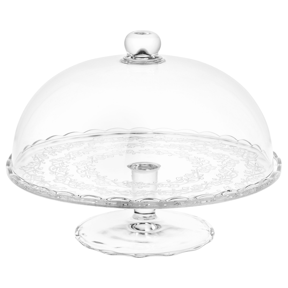Arv Brollop Cake Stand With Lid Clear Glass 11 Cake Stand With Lid Clear Glass Cake Stand Serving Stand