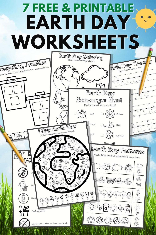 7 Free Earth Day Printables For Kindergarten Prek Video In 2021 Earth Day Worksheets Earth Day Earth Day Preschool Activities [ 1500 x 1000 Pixel ]