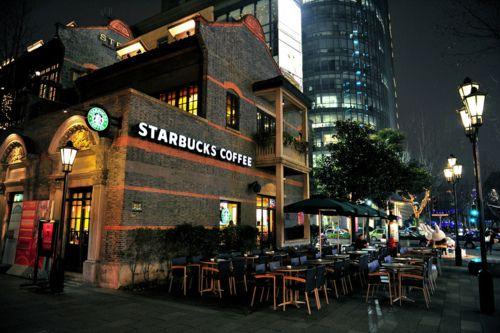 Starbucks = love.