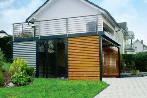 Carport terrasse stahlkonstruktion carport terrasse pinterest