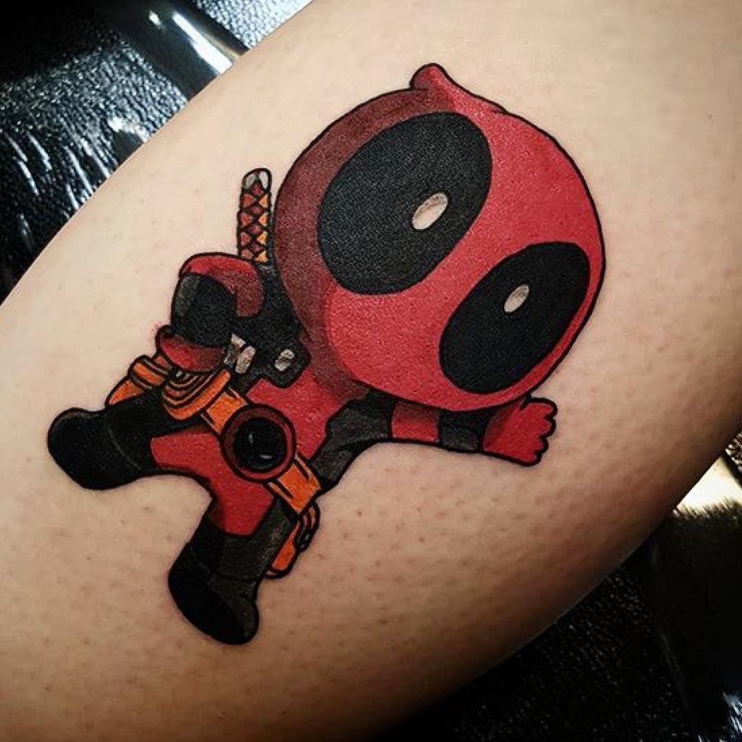 70 Dashing Deadpool Tattoo Designs: 45 Dashing Deadpool Tattoo Designs