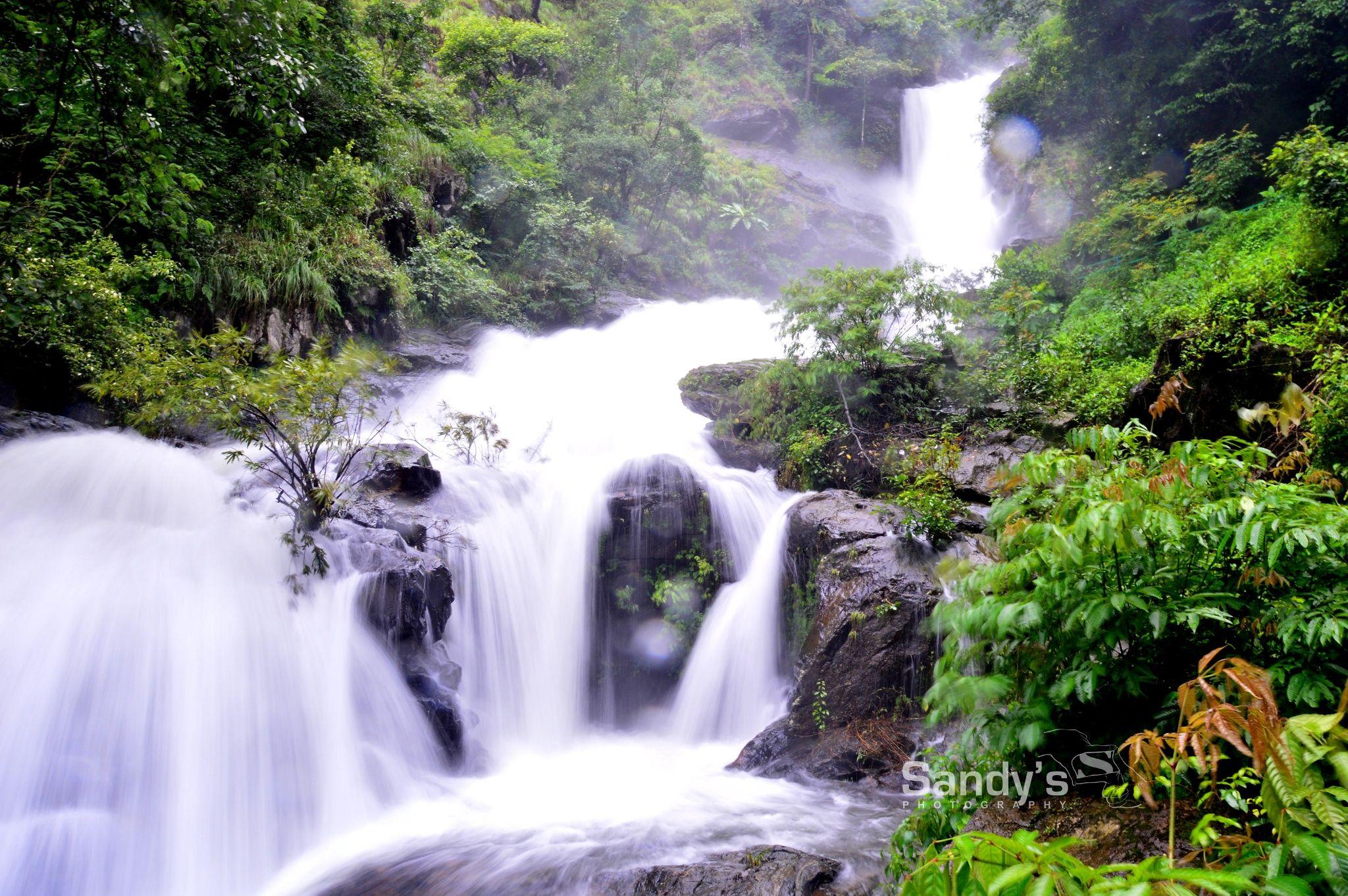 Photograph Iruppu Falls, Karnataka by Sandeep Surendran on
