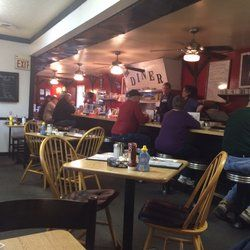 Bulldog Diner - West Milton, OH, United States. A nice traditional diner setting