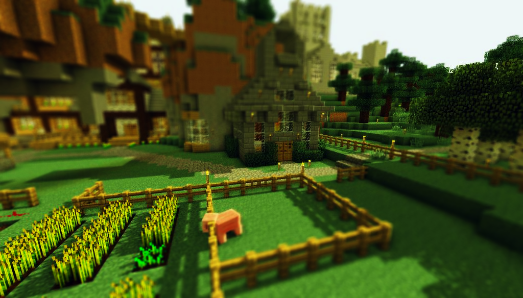 minecraft_tilt_shift_6 on No Robots.